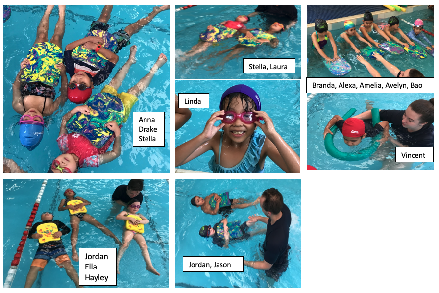 SWIMMING: FEATURING YEAR 1/2 SWIMMING